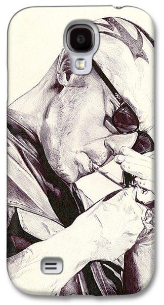 Kim Drawings Galaxy S4 Cases - Juice Ortiz Galaxy S4 Case by Kyle Willis