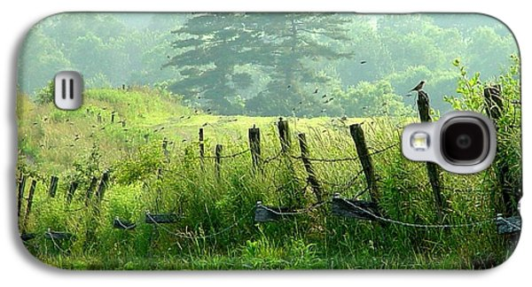 A Summer Evening Landscape Galaxy S4 Cases - Award Winning - Looks Like A Painting - July Fourth Evening Galaxy S4 Case by James Scott Preston
