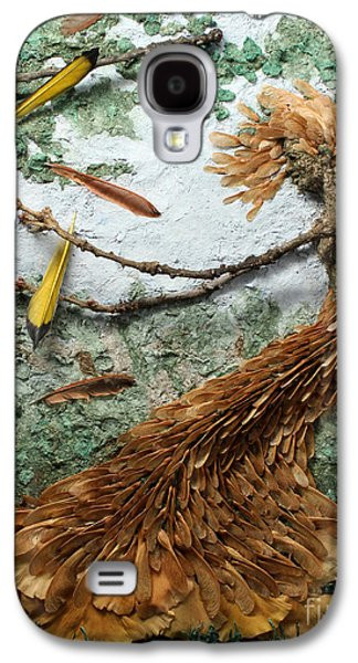 Smiling Mixed Media Galaxy S4 Cases - June Breeze Galaxy S4 Case by Adam Long