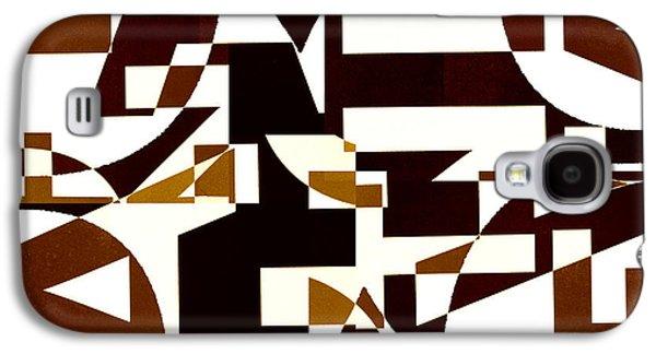 Abstract Digital Digital Art Galaxy S4 Cases - Junk Mail 2 Galaxy S4 Case by Elena Nosyreva
