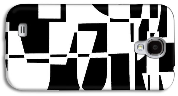 Abstract Digital Digital Galaxy S4 Cases - Junk Mail Galaxy S4 Case by Elena Nosyreva