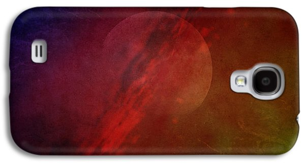 Outer Space Photographs Galaxy S4 Cases - Jupiter Ascending Galaxy S4 Case by Edward Fielding