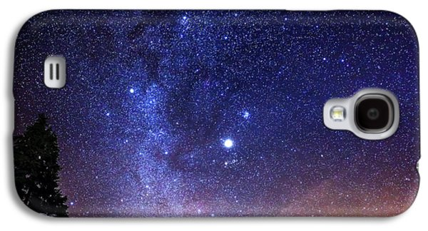 Galaxies Galaxy S4 Cases - Jupiter Rising Galaxy S4 Case by Alexis Birkill