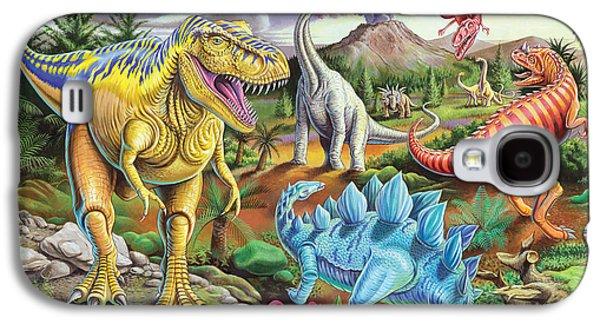 Jurassic Jubilee Galaxy S4 Case by Mark Gregory