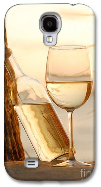 Vineyard In Napa Galaxy S4 Cases - Just a beautiful day Galaxy S4 Case by Jon Neidert