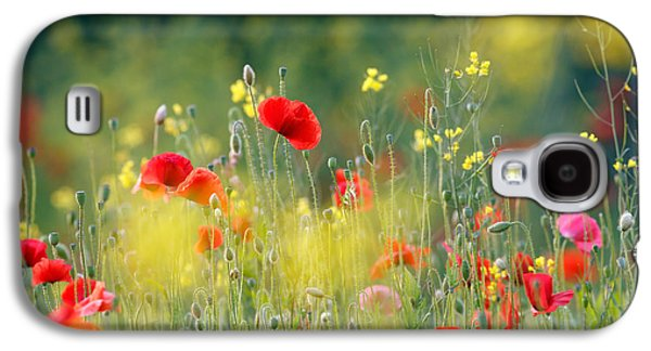 Macro Photographs Galaxy S4 Cases - Just a Perfect Day Galaxy S4 Case by Roeselien Raimond