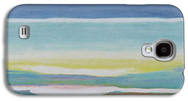 Abstract Landscape Galaxy S4 Cases - Just Above Sea Level Galaxy S4 Case by Lou Gibbs