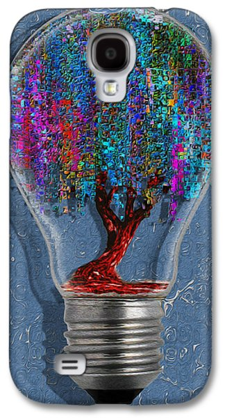 Installation Art Galaxy S4 Cases - Just An Idea Galaxy S4 Case by Jack Zulli