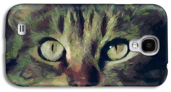 House Pet Digital Art Galaxy S4 Cases - Just be careful Galaxy S4 Case by Yury Malkov