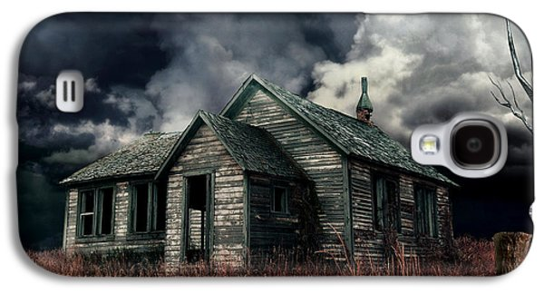 Shed Digital Art Galaxy S4 Cases - Just before the Storm Galaxy S4 Case by Aimelle
