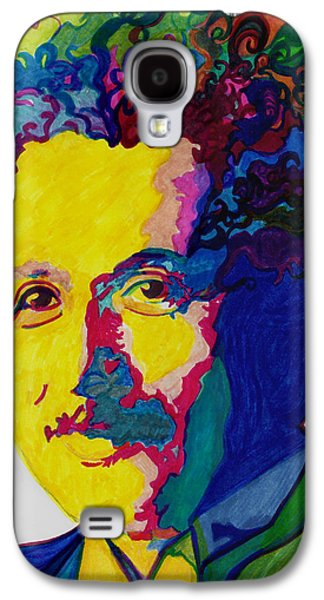 Einstein Drawings Galaxy S4 Cases - Just Call Me Al Galaxy S4 Case by Jill Jacobs