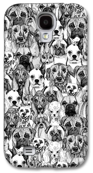Just Dogs Galaxy S4 Case by Sharon Turner