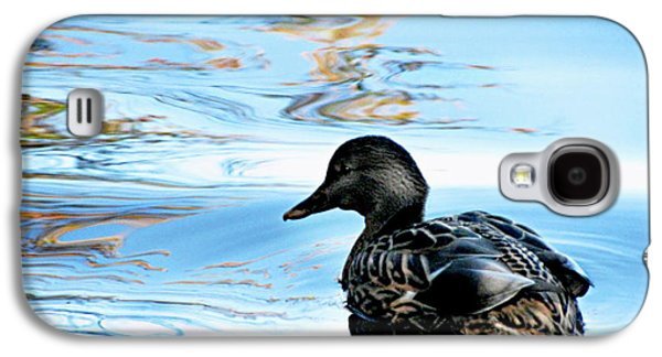 Original Art Photographs Galaxy S4 Cases - Just Ducky Galaxy S4 Case by Colleen Kammerer