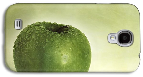 Apple Photographs Galaxy S4 Cases - Just Green Galaxy S4 Case by Priska Wettstein
