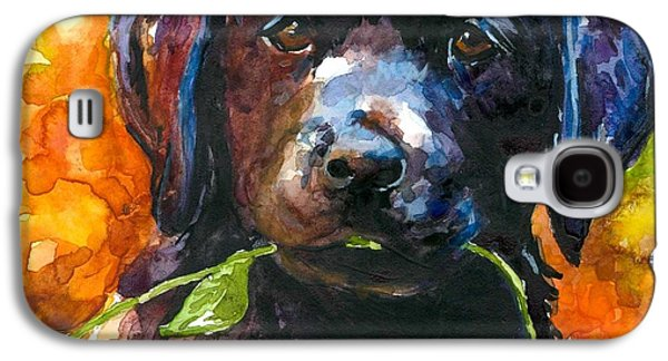 Puppies Galaxy S4 Cases - Just Picked Galaxy S4 Case by Molly Poole