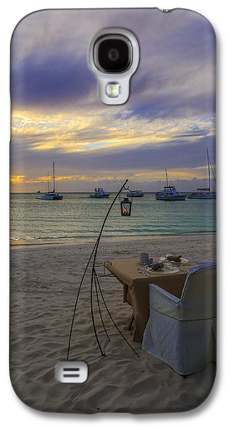 Candle Stand Galaxy S4 Cases - Just sit back relax and enjoy the sunset Galaxy S4 Case by Eti Reid