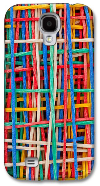 Abstracts Sculptures Galaxy S4 Cases - Just strings attached II Galaxy S4 Case by Shawn Hempel