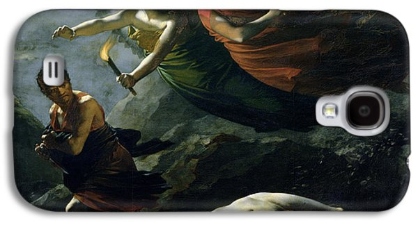 Moral Paintings Galaxy S4 Cases - Justice and Divine Vengeance pursuing Crime Galaxy S4 Case by Pierre-Paul Prud