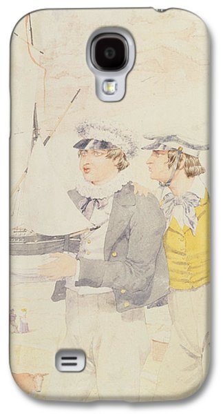 Toy Boat Galaxy S4 Cases - Juvenile Members Of The Yacht Club, 1853 Wc & Graphite On Paper Galaxy S4 Case by Richard Dadd