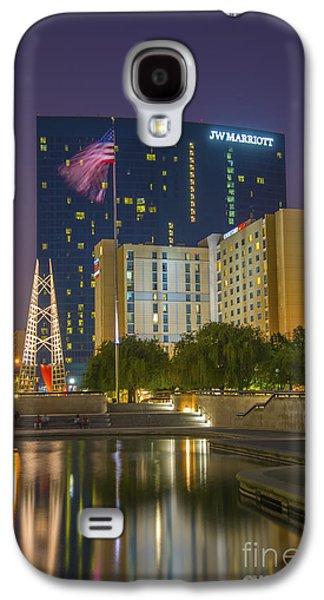Indiana Scenes Galaxy S4 Cases - JW Marriott Night Galaxy S4 Case by David Haskett