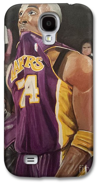 Bryant Paintings Galaxy S4 Cases - One Last Shot Galaxy S4 Case by Jason Majiq Holmes