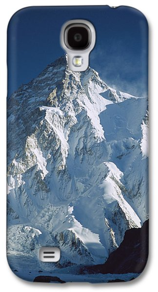 Mountain Photographs Galaxy S4 Cases - K2 At Dawn Pakistan Galaxy S4 Case by Colin Monteath