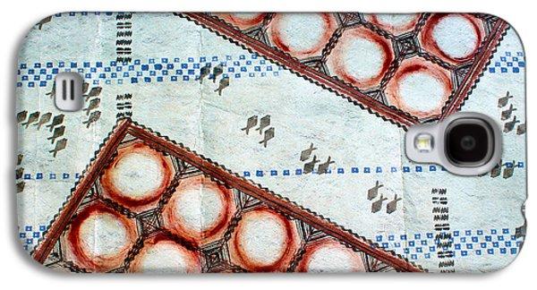 Contemporary Abstract Tapestries - Textiles Galaxy S4 Cases - Kakaako Kapa Galaxy S4 Case by Dalani Tanahy