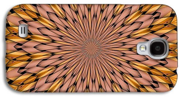 Kaleidoscope Galaxy S4 Cases - Kaleidoscope 2 Galaxy S4 Case by Ron Bissett