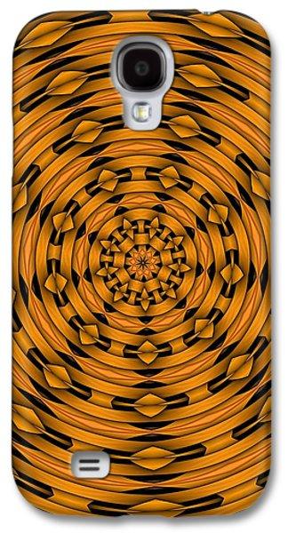 Kaleidoscope Galaxy S4 Cases - Kaleidoscope 4 Galaxy S4 Case by Ron Bissett