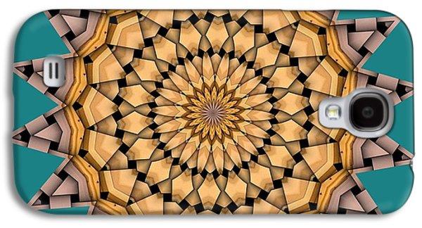 Kaleidoscope Galaxy S4 Cases - Kaleidoscope 7 Galaxy S4 Case by Ron Bissett