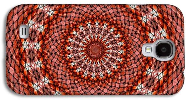 Kaleidoscope Galaxy S4 Cases - Kaleidoscope 8 Galaxy S4 Case by Ron Bissett