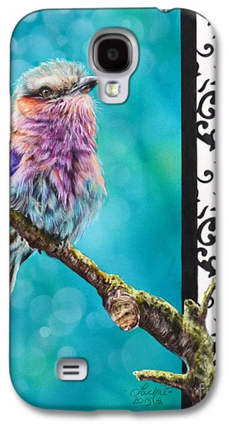 Lilacs Drawings Galaxy S4 Cases - Kaleidoscope Galaxy S4 Case by Lachri