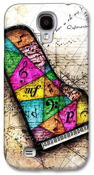 Classical Music Galaxy S4 Cases - Kaleidoscope Sonata Galaxy S4 Case by Gary Bodnar