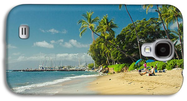 My Ocean Galaxy S4 Cases - Kamehameha Iki Park Beach Lahaina Maui Hawaii  Galaxy S4 Case by Sharon Mau