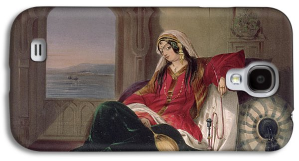 Orientalists Galaxy S4 Cases - Kandahar Lady Of Rank Galaxy S4 Case by James Rattray