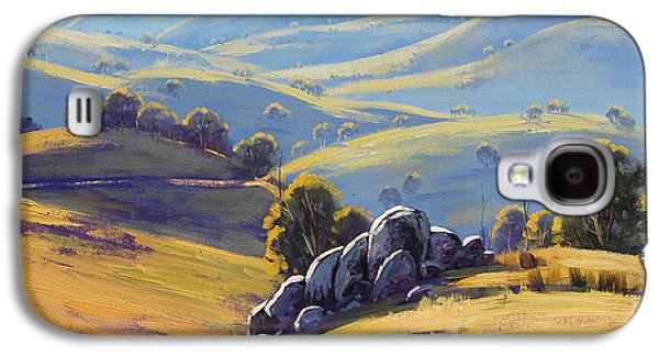 Shed Galaxy S4 Cases - Kanimbla Granite Galaxy S4 Case by Graham Gercken