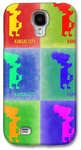 Kansas Galaxy S4 Cases - Kansas City Pop Art 1 Galaxy S4 Case by Naxart Studio