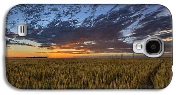 Kansas Color Galaxy S4 Case by Thomas Zimmerman