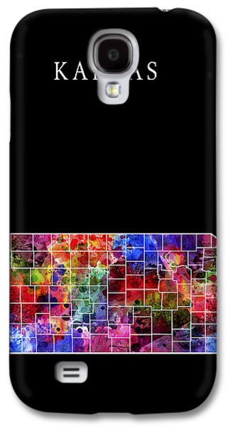 Bison Digital Galaxy S4 Cases - Kansas State Galaxy S4 Case by Daniel Hagerman