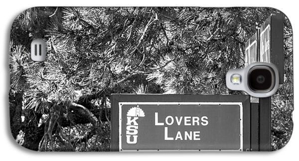 Special Occasion Photographs Galaxy S4 Cases - Kansas State University Lovers Lane Galaxy S4 Case by University Icons