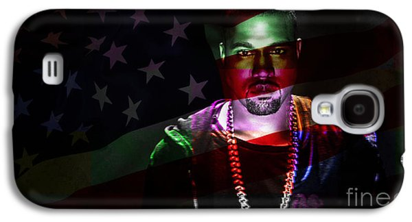 Kanye West Galaxy S4 Cases - Kanye West Galaxy S4 Case by Marvin Blaine