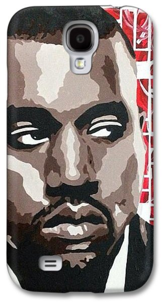 Kanye West Paintings Galaxy S4 Cases - Kanye West Galaxy S4 Case by Melanie Chu
