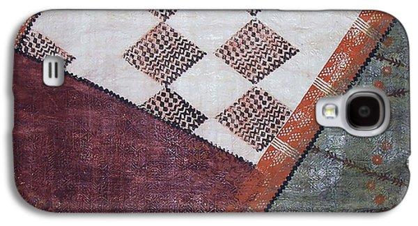 Contemporary Abstract Tapestries - Textiles Galaxy S4 Cases - Kapa Kauai Galaxy S4 Case by Dalani Tanahy