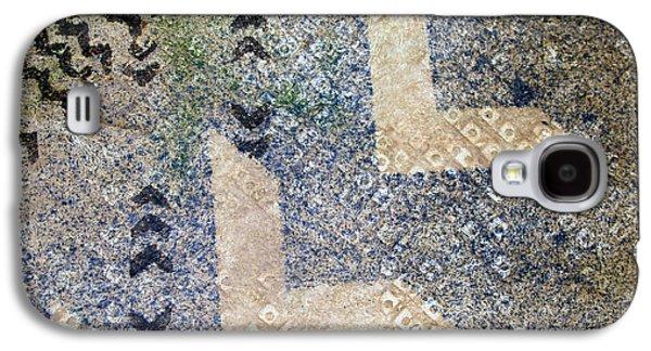 Contemporary Abstract Tapestries - Textiles Galaxy S4 Cases - Kapalanui 3 Galaxy S4 Case by Dalani Tanahy
