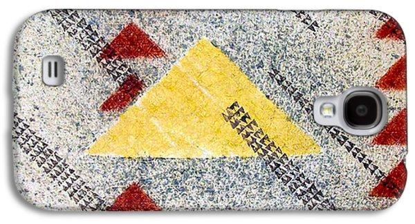 Contemporary Abstract Tapestries - Textiles Galaxy S4 Cases - Kapalanui I Galaxy S4 Case by Dalani Tanahy