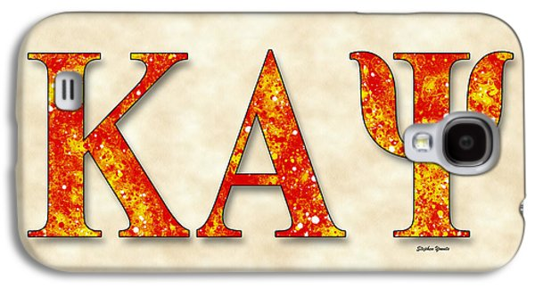 Kappa Alpha Psi - Parchment Galaxy S4 Case by Stephen Younts
