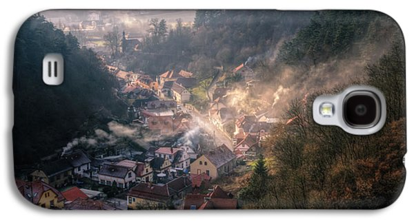 Ancient Galaxy S4 Cases - Karlstejn Galaxy S4 Case by Joan Carroll