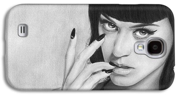 Katy Perry Galaxy S4 Cases - Katy Perry 001 Galaxy S4 Case by Mandy Boss