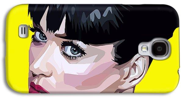 Katy Perry Galaxy S4 Cases - Katy Perry Galaxy S4 Case by Aura Art