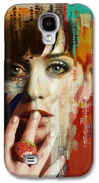 Katy Perry Galaxy S4 Cases - Katy Perry Galaxy S4 Case by Corporate Art Task Force